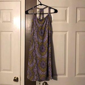 Prana sundress with adjustable neckline